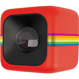 Polaroid Cube Lifestyle Action Camera :Red